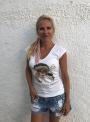 Camiseta Infinittamente Pirata escote pico