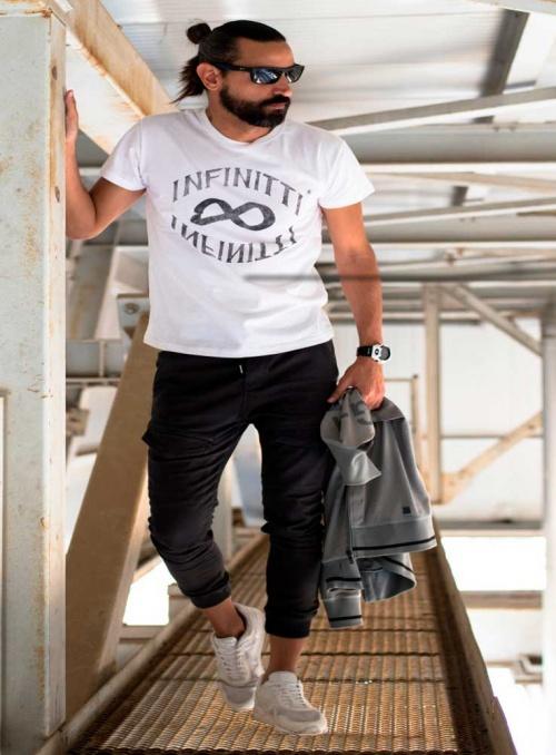 Camiseta hombre Infinitti Circle