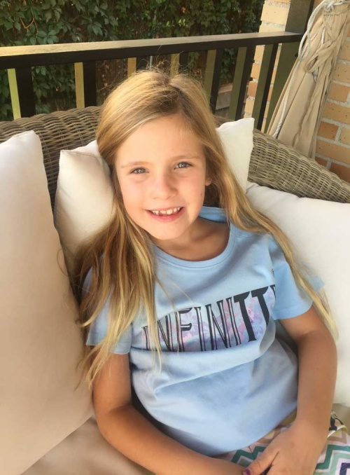 Camiseta kids flower Infinitti