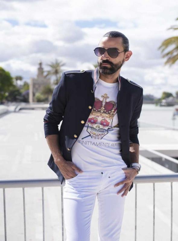 Camiseta Infinitamente Rey
