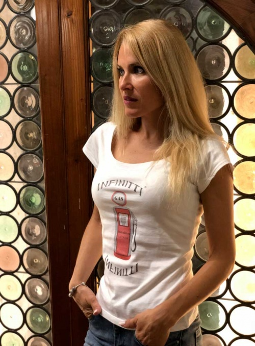 Camiseta mujer Infinitti Gas