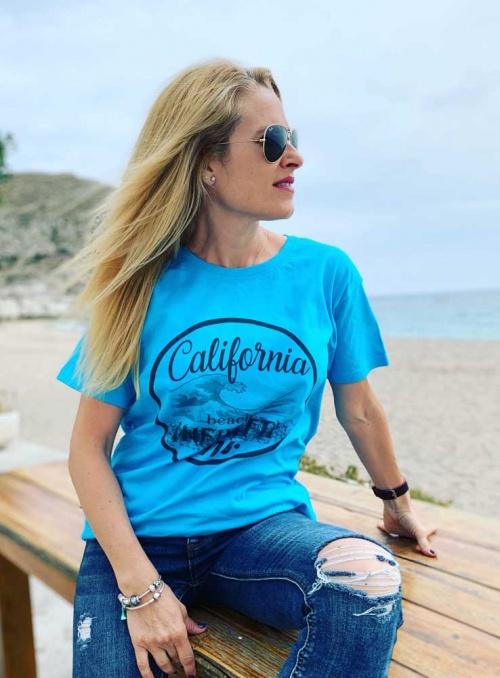 Camiseta Infinitti California Unisex cuello redondo