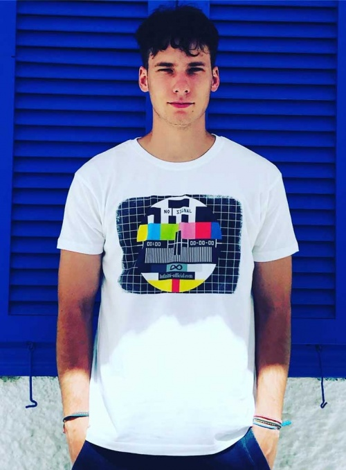 Camiseta hombre No signal Infinitti