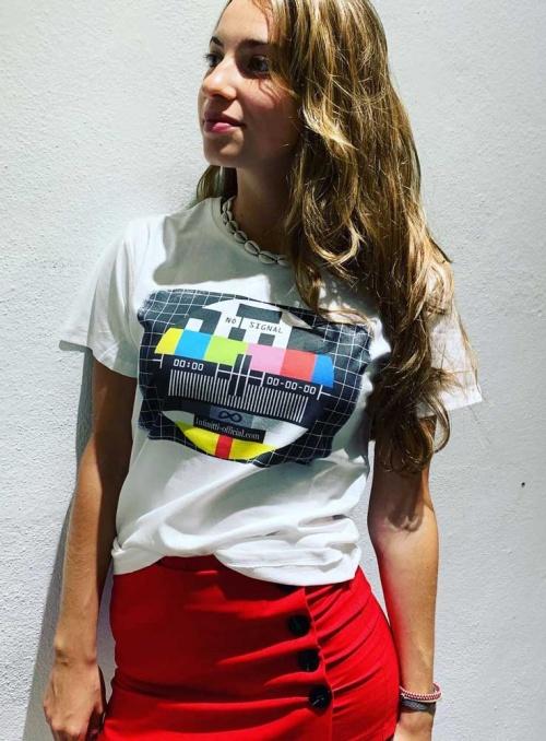 Camiseta mujer No signal Infinitti