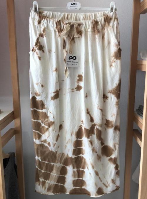 falda mujer tie dye