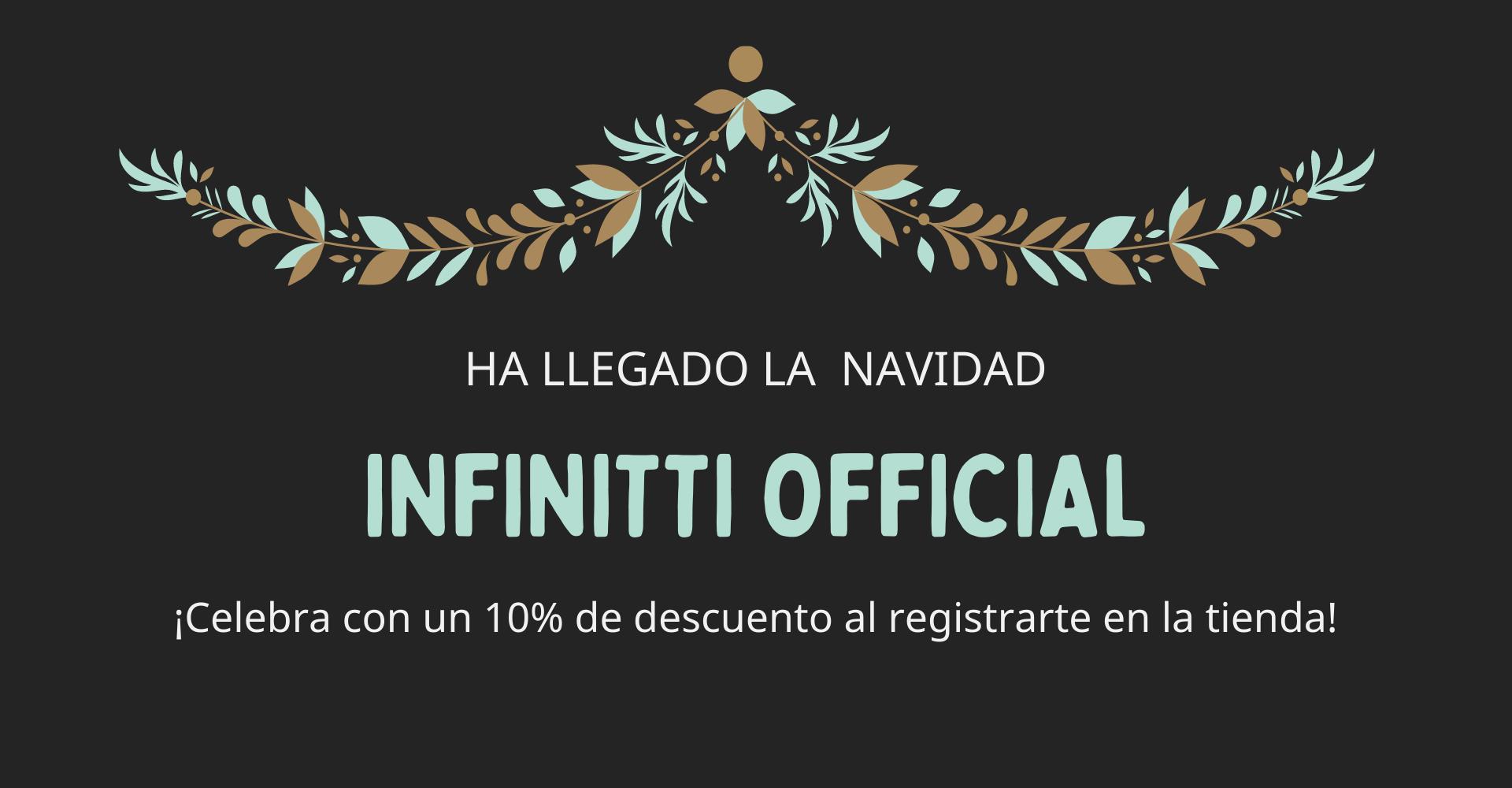 ¡Ha llegado la navidad Infinitti Official